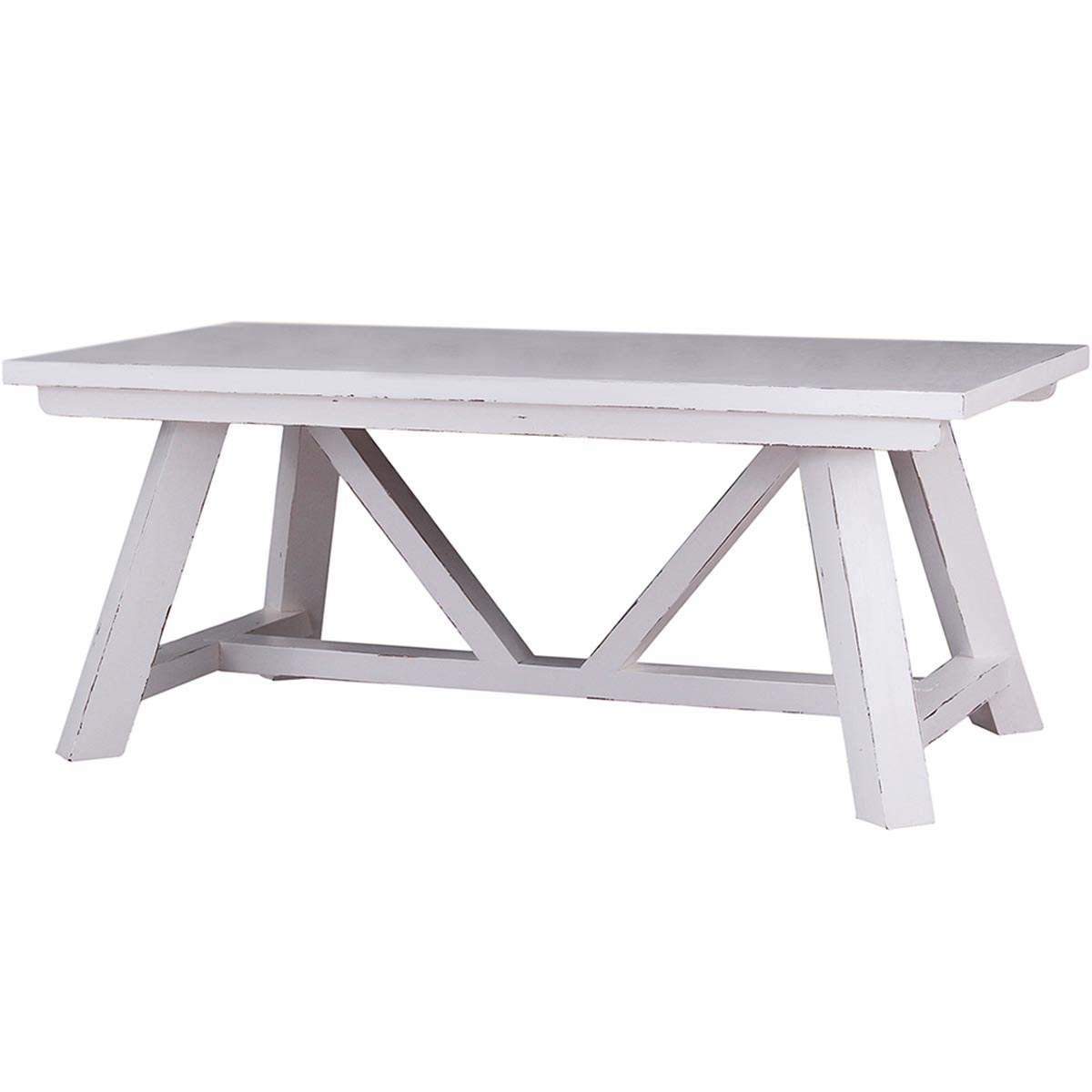 Bankside Trestle Dining Table 6' w/ out Grooves